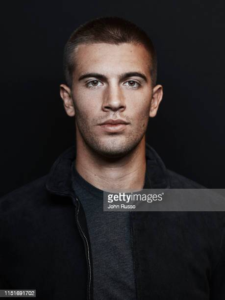 Tennis player Borna Coric is photographed for Gio Journal on March 5, 2019 in Indian Wells, California.