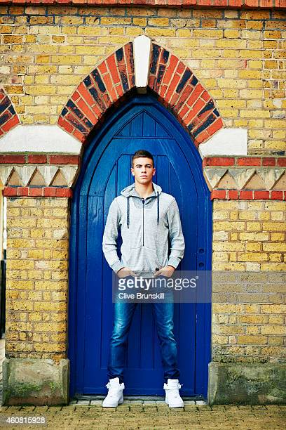 Tennis player Borna Coric is photographed on November 12, 2014 in London, England.