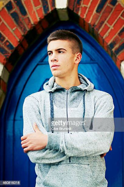 Tennis player Borna Coric is photographed on November 12 2014 in London England