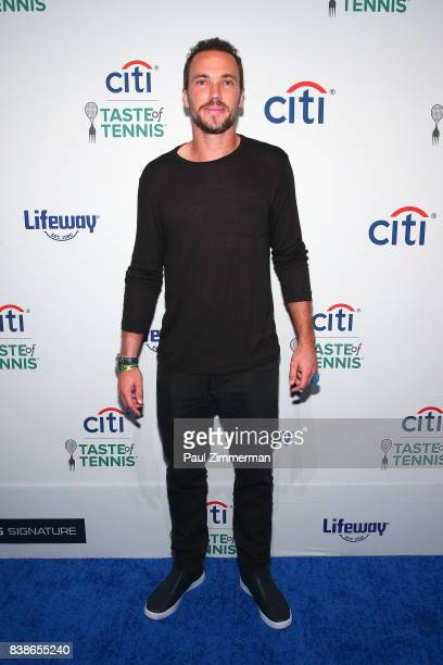 Tennis player Bruno Soares attends Citi Taste Of Tennis at W New York on August 24 2017 in New York City