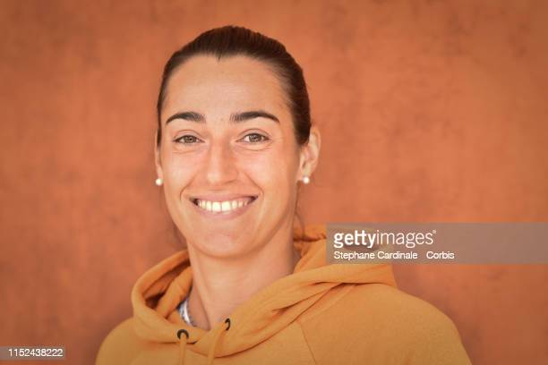 Tennis Player Caroline Garcia attends the 2019 French Tennis Open Day Four at Roland Garros on May 29 2019 in Paris France