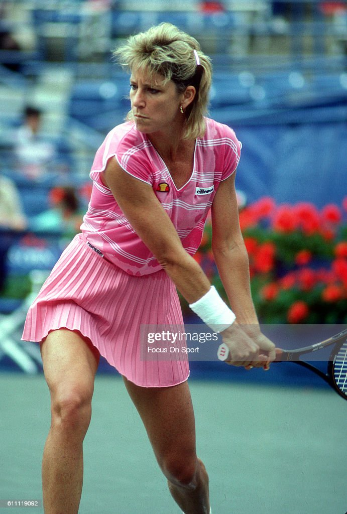 1986 U.S. Open Tennis Champinship : News Photo