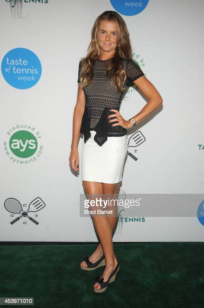 Tennis player Daniela Hantuchova attends Taste Of Tennis Week Taste Of Tennis Gala at the W New York on August 21 2014 in New York City