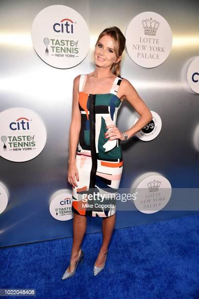 Tennis player Daniela Hantuchova attends the Citi Taste Of Tennis gala on August 23 2018 in New York City