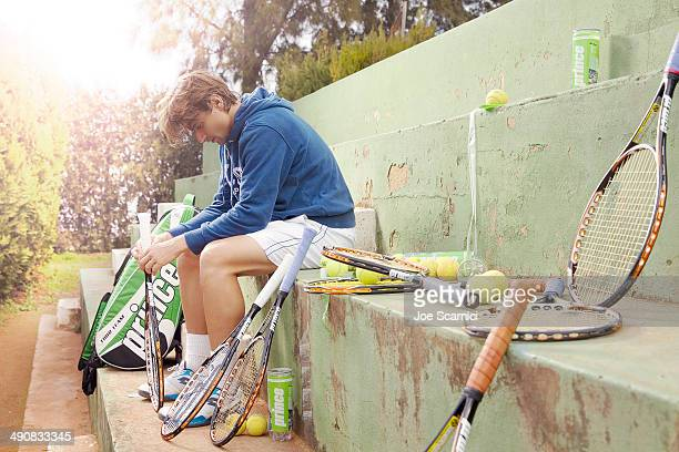 Tennis player David Ferrer is photographed for Self Assignment on December 12 2012 in Valencia Spain