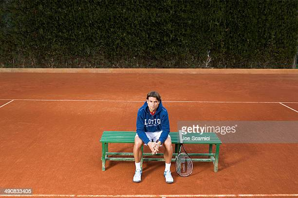 Tennis player David Ferrer is photographed for Self Assignment on December 12, 2012 in Valencia, Spain.