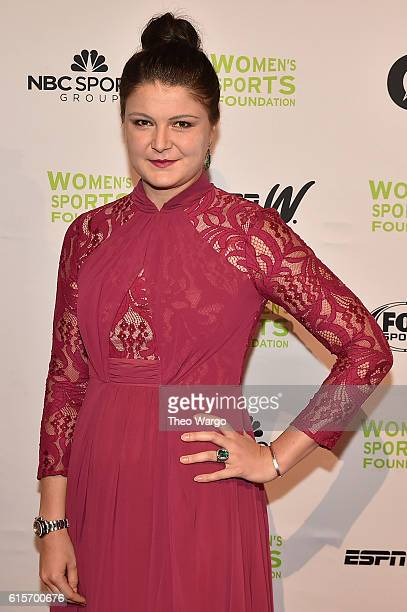 Tennis player Dinara Safina attends the 37th Annual Salute To Women In Sports Gala at Cipriani Wall Street on October 19 2016 in New York City