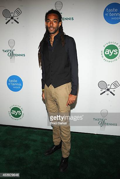 Tennis player Dustin Brown attends Taste Of Tennis Week Taste Of Tennis Gala at the W New York on August 21 2014 in New York City