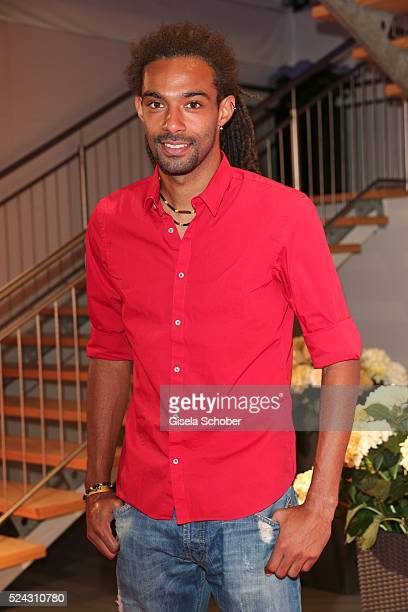 Tennis player Dustin Brown during the Players Night of the BMW Open 2016 tennis tournament at Iphitos tennis club on April 25 on April 25 2016 in...