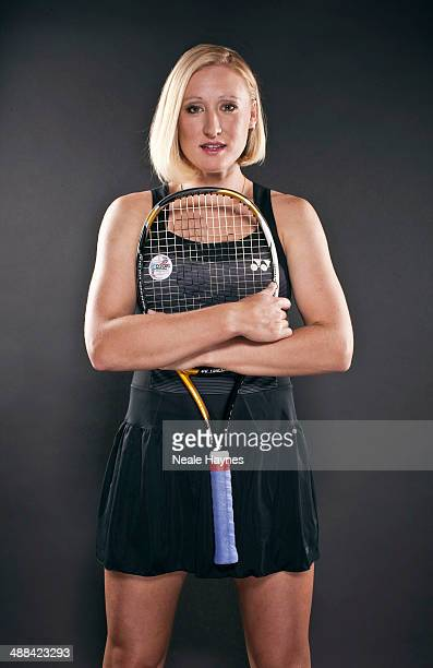 Tennis player Elena Baltacha is photographed on June 13, 2010 in Brighton, England.