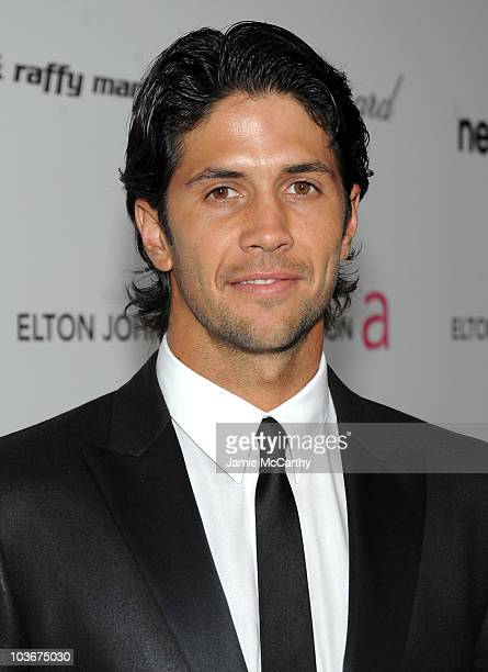 Tennis player Fernando Verdasco arrives at the 18th Annual Elton John AIDS Foundation Oscar party held at Pacific Design Center on March 7, 2010 in...