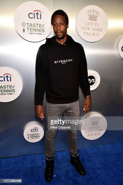 Tennis player Gael Monfils attends the Citi Taste Of Tennis gala on August 23 2018 in New York City