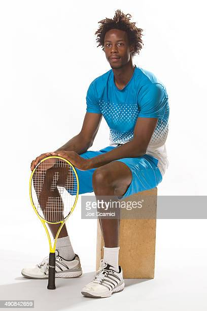Tennis player Gael Monfils is photographed for Self Assignment on August 26 2011 in New York City