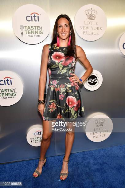 Tennis player Georgina Garcia Perez attends the Citi Taste Of Tennis gala on August 23 2018 in New York City