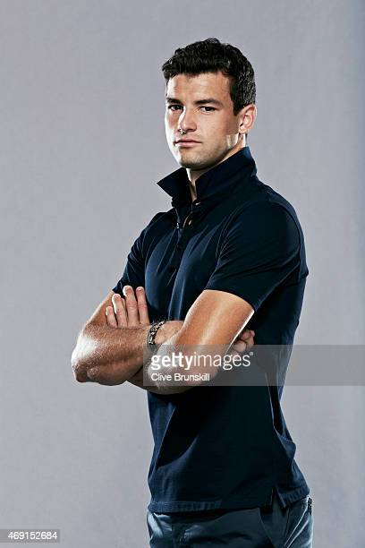 Tennis player Grigor Dimitrov is photographed on March 5 2014 in London England