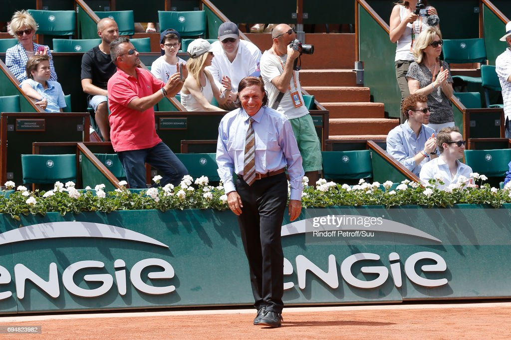 Celebrities At  2017 French Open - Day Fithteen