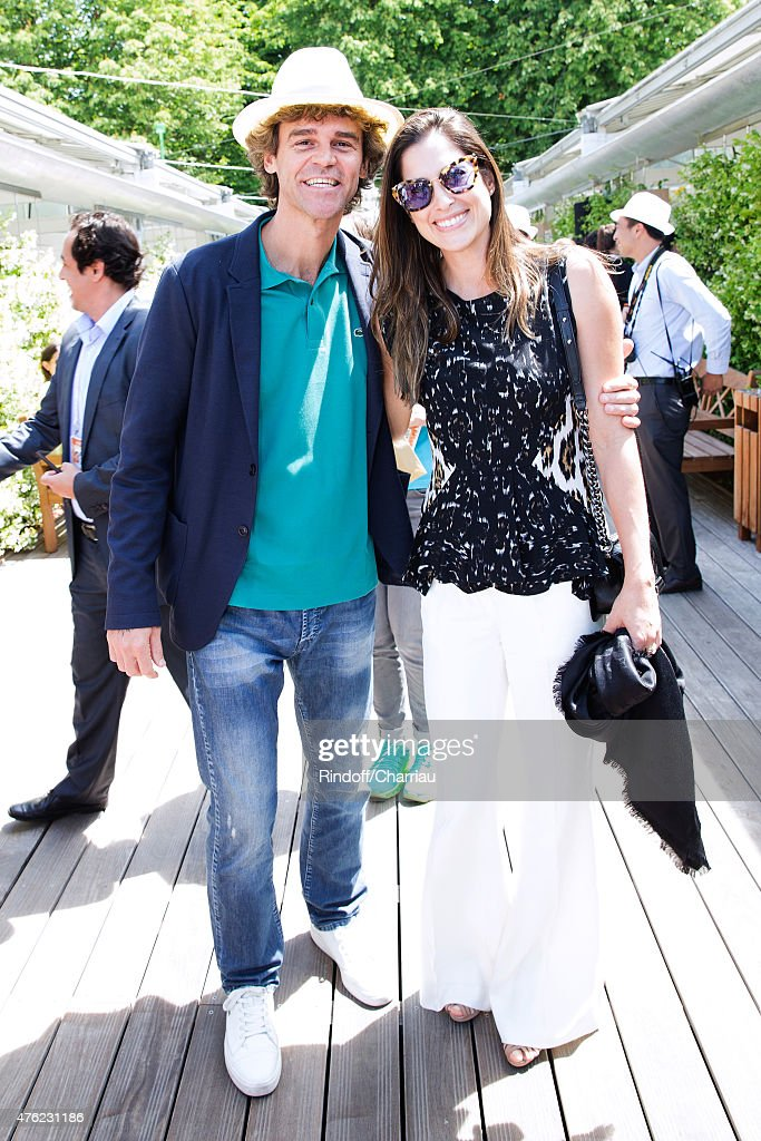 Celebrities At French Open 2015  - Day Fifteen