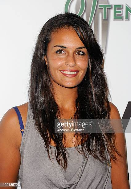 Tennis Player Heidi El Tabakh attends the 12th Annual BNP Paribas Taste of Tennis at W New York Hotel on August 25 2011 in New York City