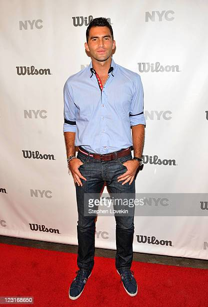 Tennis Player Horia Tecau attends the Wilson Racquet Sports Fashion Show at Exit Art on August 31 2011 in New York City