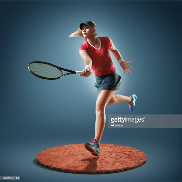 テニスプレーヤーに対応 - 試合 セット ストックフォトと画像