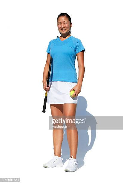 tennis player isolated on white - tennis player stock pictures, royalty-free photos & images
