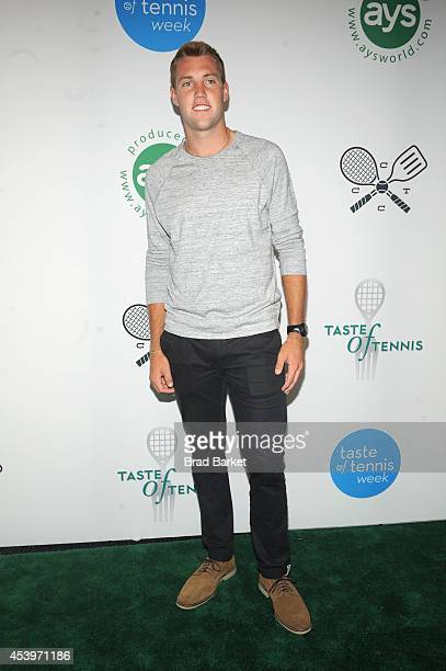 Tennis player Jack Sock attends Taste Of Tennis Week: Taste Of Tennis Gala at the W New York on August 21, 2014 in New York City.