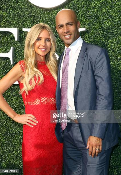 Tennis player James Blake and wife Emily Snider attend the 17th Annual USTA Foundation Opening Night Gala at USTA Billie Jean King National Tennis...