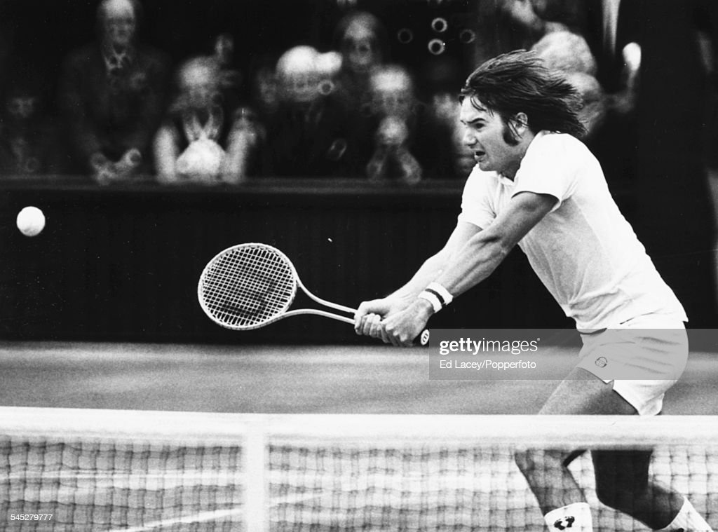 Jimmy Connors In Singles Final : News Photo