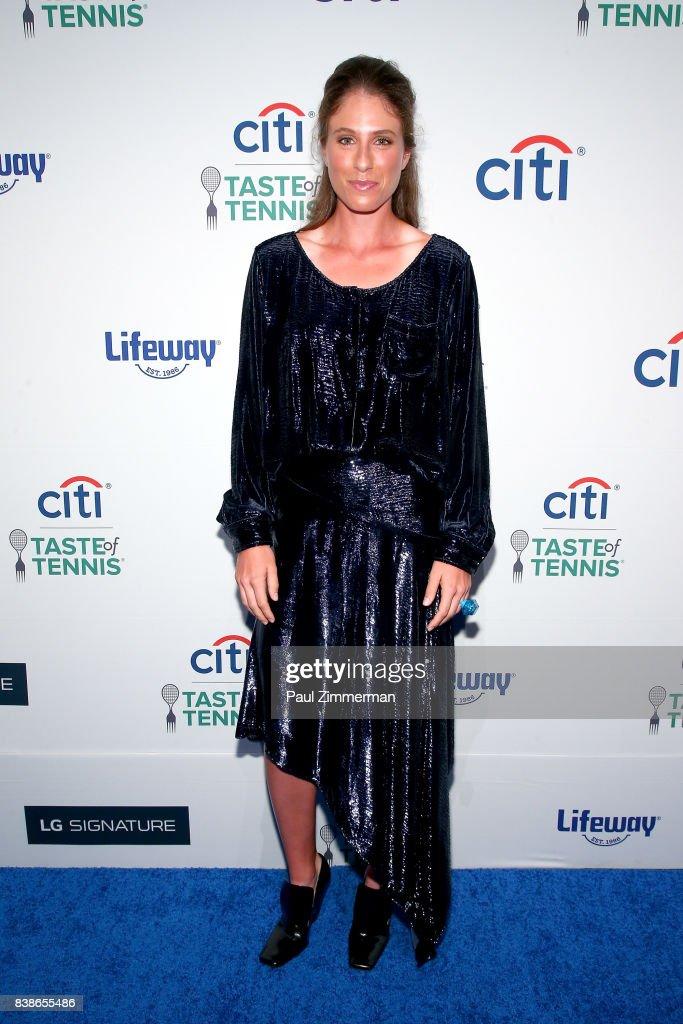 Tennis player Johanna Konta attends Citi Taste Of Tennis at W New York on August 24, 2017 in New York City.