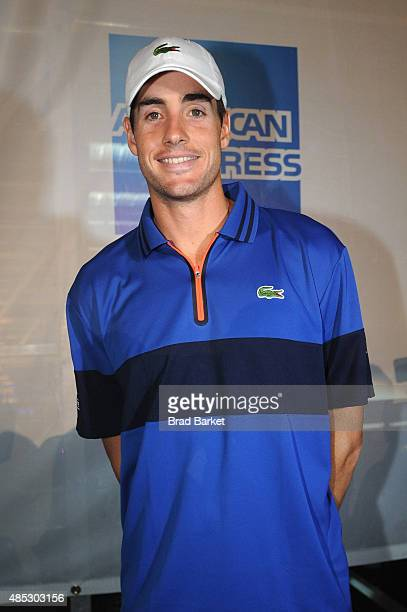 Tennis Player John Isner attends Rally On The River presented by American Express featuring Maria Sharapova John Isner Monica Puig and DJ Set By...