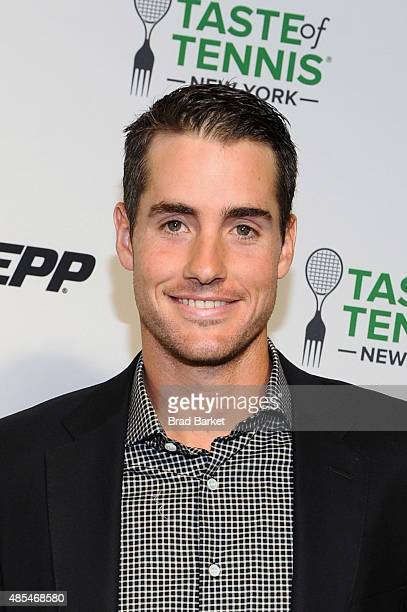 Tennis player John Isner attends the Taste of Tennis Gala during Taste of Tennis Week at W New York on August 27 2015 in New York City