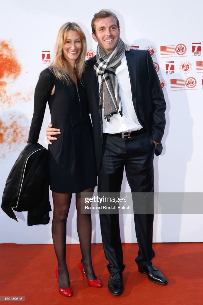 Annual Photocall For Roland Garros Tennis Players At 'Residence De L'Ambassadeur Des Etats-Unis' In Paris