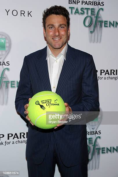 Tennis player Justin Gimelstob attends the 2010 Taste of Tennis at the W New York on August 26 2010 in New York City
