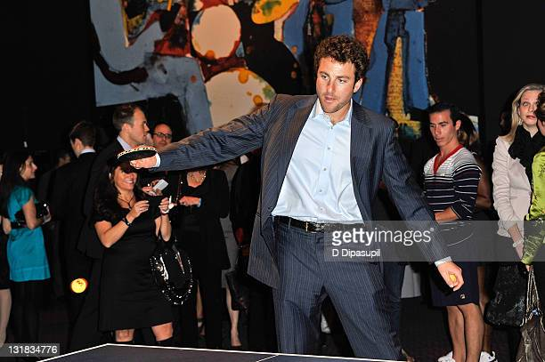 Tennis player Justin Gimelstob attends the 5th Annual Serving for a Cure Fundraiser for Cancer Research at Jazz at Lincoln Center on November 30 2010...