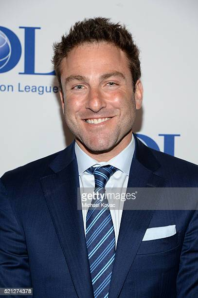 Tennis Player Justin Gimelstob attends the ADL Entertainment Industry Dinner at The Beverly Hilton Hotel on April 14 2016 in Beverly Hills California