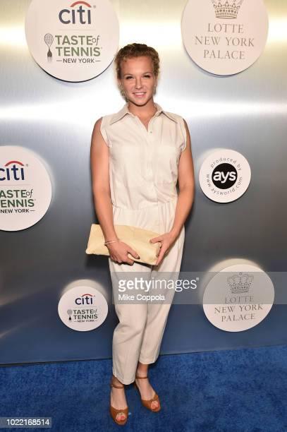 Tennis player Katerina Siniakova attends the Citi Taste Of Tennis gala on August 23 2018 in New York City