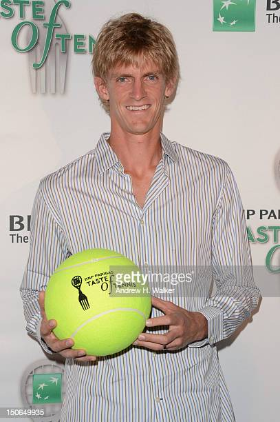 Tennis player Kevin Anderson attends the 13th Annual BNP PARIBAS TASTE OF TENNIS benefitting New York Junior Tennis Learning at the W New York Hotel...