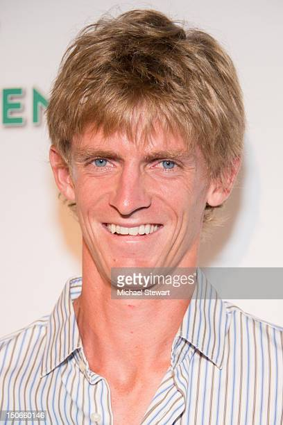 Tennis player Kevin Anderson attends the 13th annual BNP Paribas Taste of Tennis at the W New York Hotel on August 23 2012 in New York City