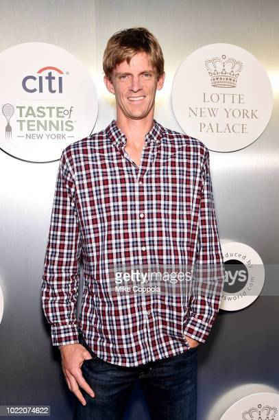 Tennis player Kevin Anderson attends the Citi Taste Of Tennis gala on August 23 2018 in New York City