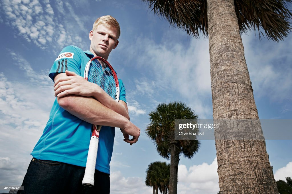 Kyle Edmund, Portrait shoot, March 22, 2014