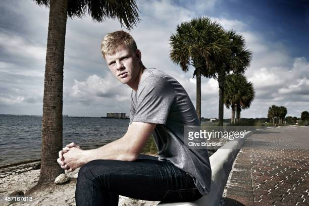 Tennis player Kyle Edmund is photographed for on March 22 2014 in Miami Florida