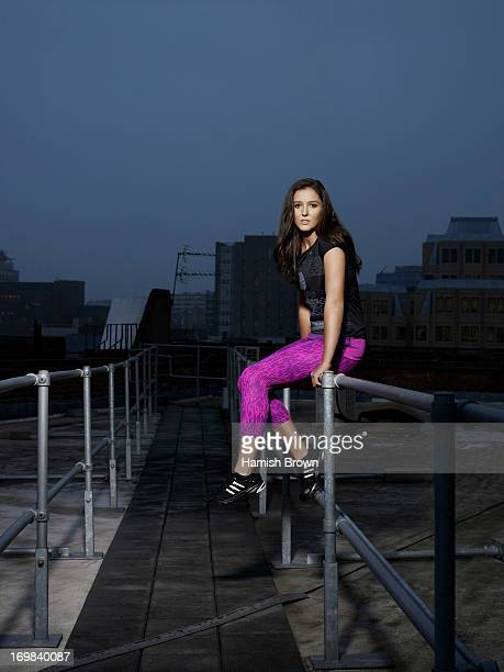Tennis player Laura Robson is photographed for the Times on November 16 2012 in London England
