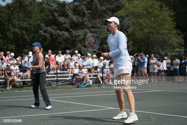 Tennis Player Lindsay Davenport attends 4th Annual JMTP ProAm In The Hamptons on August 25 2018 in Amagansett New York