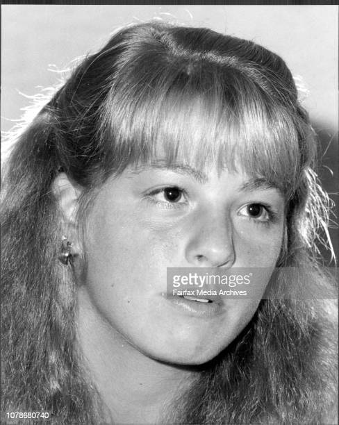 Tennis player Lisa Bonder who will be playing at the McDonalds Indoor championship Hordern Pavilion July 28 1983