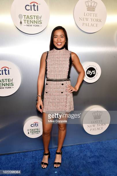 Tennis player Lizette Cabrera attends the Citi Taste Of Tennis gala on August 23 2018 in New York City