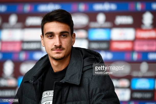 Tennis player Lorenzo Sonego attends the Serie A football match between Torino FC and AS Roma. Torino FC won 3-1 over AS Roma.