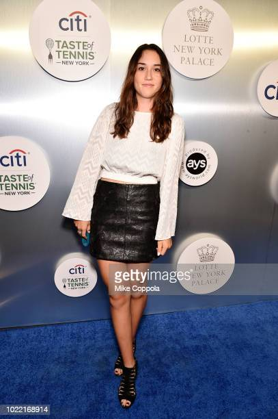 Tennis player Louisa Chirico attends the Citi Taste Of Tennis gala on August 23 2018 in New York City