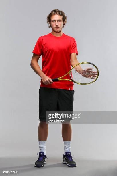 Tennis player Lucas Pouille is photographed for Self Assignment on December 11 2012 in Valencia Spain