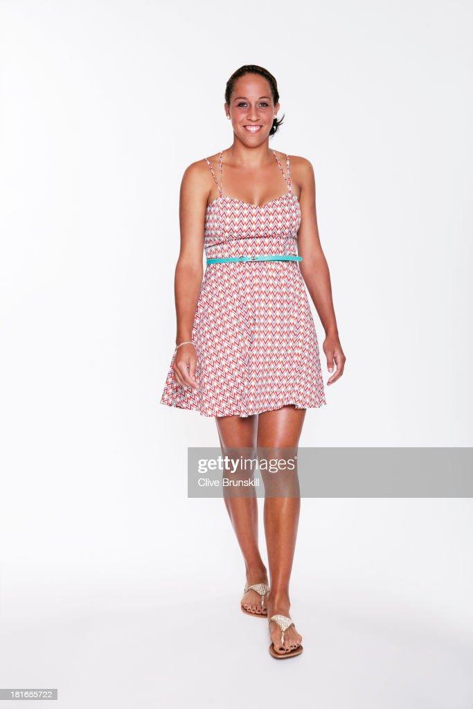 Madison Keys, Portrait shoot, June 30, 2013
