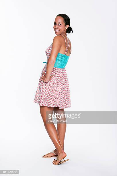 Tennis player Madison Keys is photographed on June 30 2013 in London England